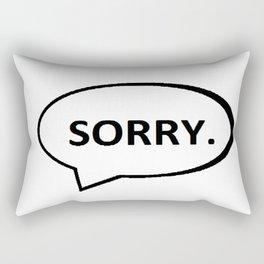 SORRY. Rectangular Pillow
