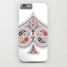 83 Drops - Spades (Red & Black) Slim Case iPhone 6s
