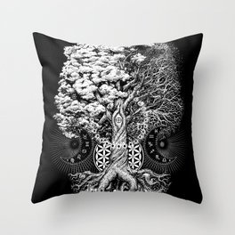 The Tree of Life Throw Pillow