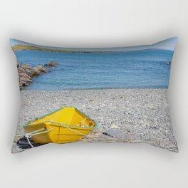 yellow dory Rectangular Pillow