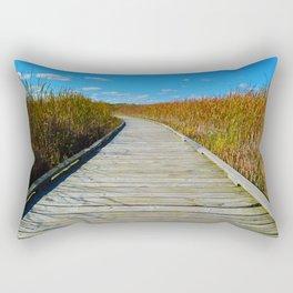 Point Pelee National Park Boardwalk in Leamington ON, Canada Rectangular Pillow