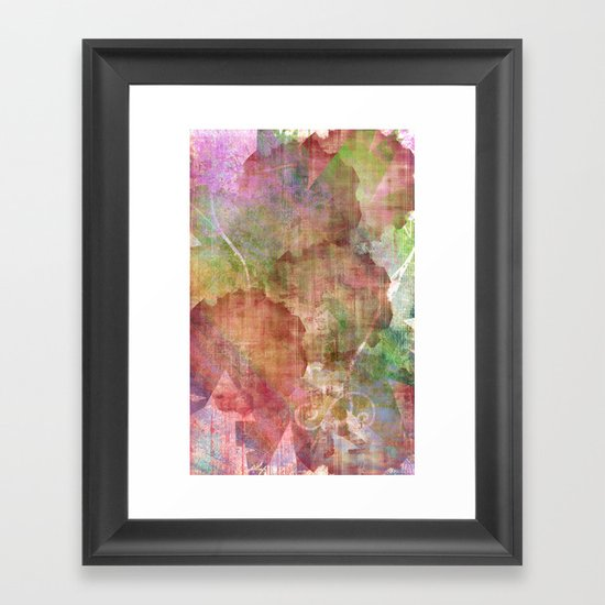 Abstract Me Framed Art Print