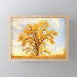High and Dry Framed Mini Art Print