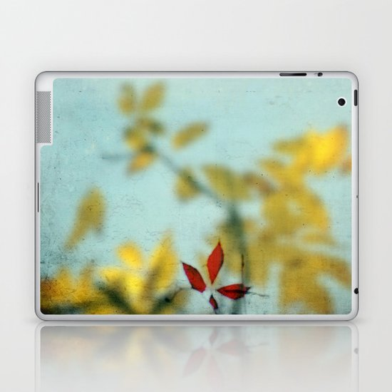 When Red meets Yellow Laptop & iPad Skin
