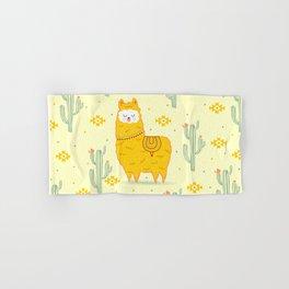 Alpaca summer Hand & Bath Towel