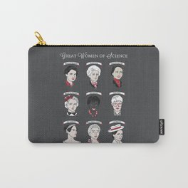 Great Women of Science {Set} Carry-All Pouch