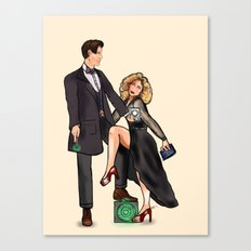 Doctor Whomours Canvas Print