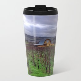 Oregon Wine Country Metal Travel Mug