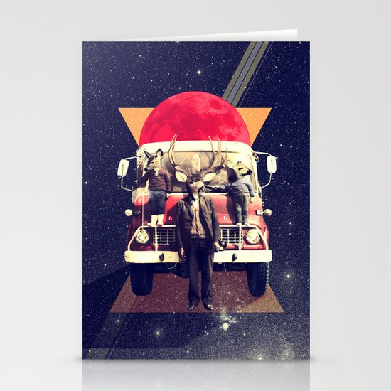 El Camion Stationery Cards