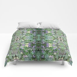 Flower Dapple 1 Comforters