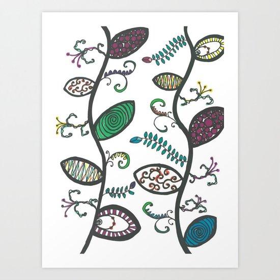 Viney Fun Art Print