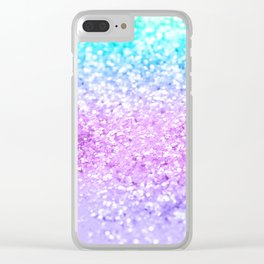 Unicorn Girls Glitter #9 #shiny #decor #art #society6 Clear iPhone Case