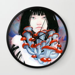 Collective Embrace Wall Clock