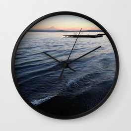 Lake Washington Wall Clock