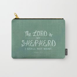Psalm 23:1 Carry-All Pouch