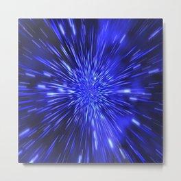Exploding Star Metal Print