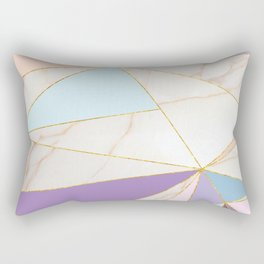 Rose Quart & Purple Spectrum Rectangular Pillow