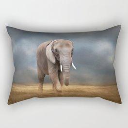 Elephant tour Rectangular Pillow