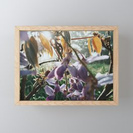 Mess of Wildflowers Framed Mini Art Print