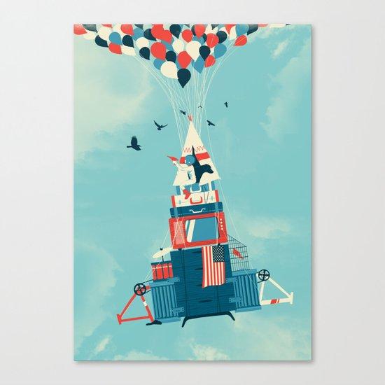 Rocket Boy Canvas Print