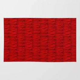 red silk curtains Rug