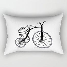 Bike on 3 wheels Rectangular Pillow