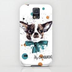 Chic Chihuahua dog Slim Case Galaxy S5