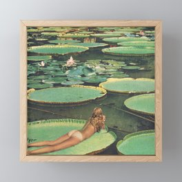 LILY POND LANE Framed Mini Art Print