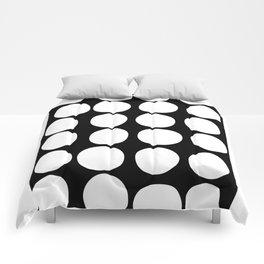 Dots black n´white Comforters