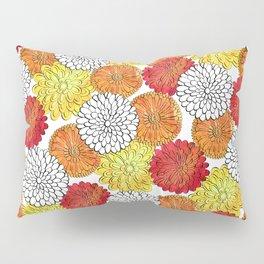 Dahlia Garden Summer Pillow Sham
