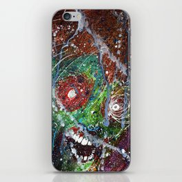 Fear Equals Rage iPhone Skin