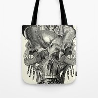 agents of shield Tote Bags featuring  Shield by DIVIDUS
