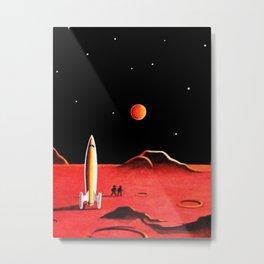 CITY ON MARS Metal Print