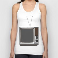 tv Tank Tops featuring Television by Jarom Ward