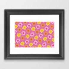 Summer Flowers (2) Framed Art Print