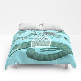MASON JAR CAT Comforters