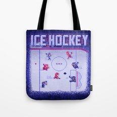Hockey Ice Tote Bag
