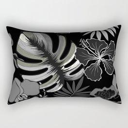 Palm leaves. Rectangular Pillow