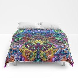 Abstract digital elephant Comforters