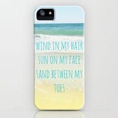 Wind In My Hair Slim Case iPhone (5, 5s)
