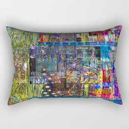 Motherless Whale Eye (or Spies From Imaginary Countries) [Another New Twist on Stupid Series] Rectangular Pillow