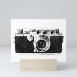 Old Camera Mini Art Print