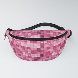Pink Ceramic Tiles Fanny Pack