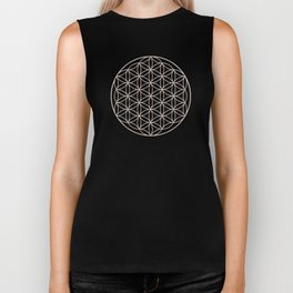 Mandala Flower of Life Sea Biker Tank