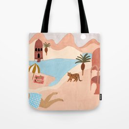 Desert Beach Tote Bag