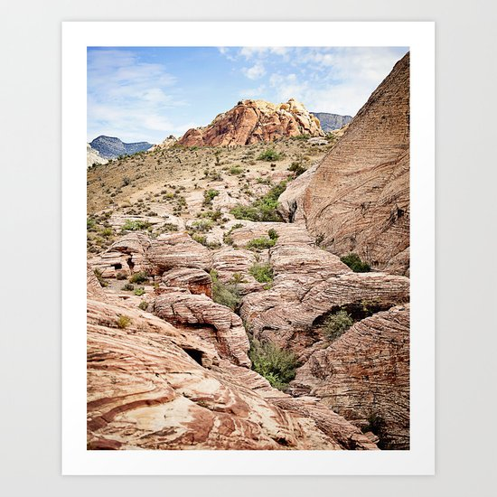 Red Rock Canyon, Nevada Art Print