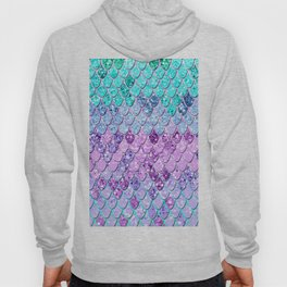 Mermaid Scales with Unicorn Girls Glitter #9 #shiny #decor #art #society6 Hoody