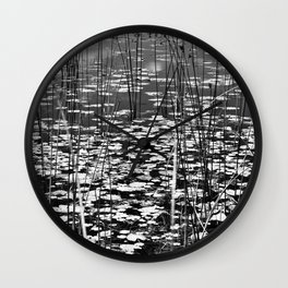 August Afternoon Wall Clock