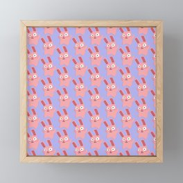 Freezer Bunny Framed Mini Art Print
