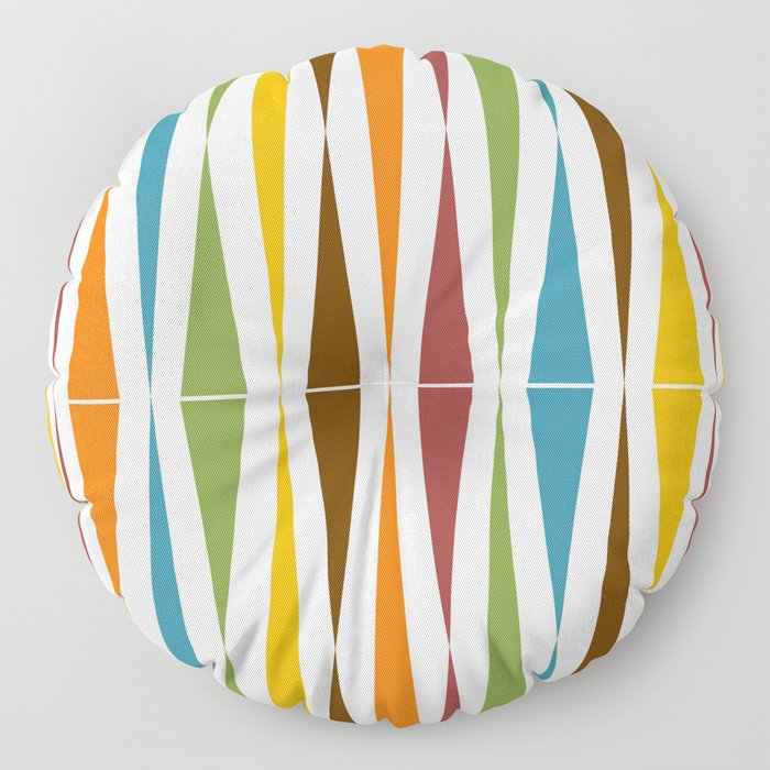 Mid-Century Modern Art 1.4 Floor Pillow